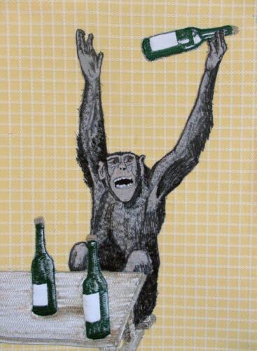 drink, drink aap!(het zijn net mensen)