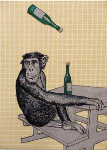 drink,drink aap! nr2(het zijn net mensen)