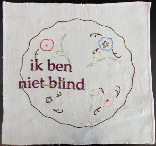 ik ben niet blind