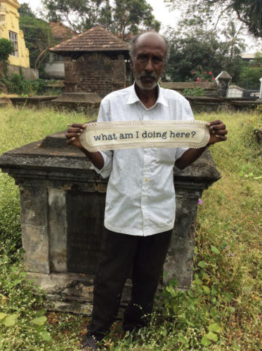 India: man
